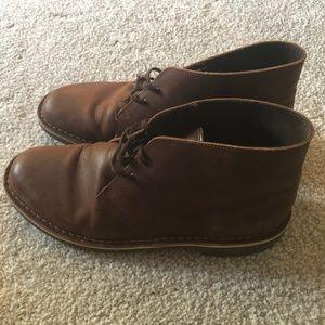 Clarks Leather Chukka Boots